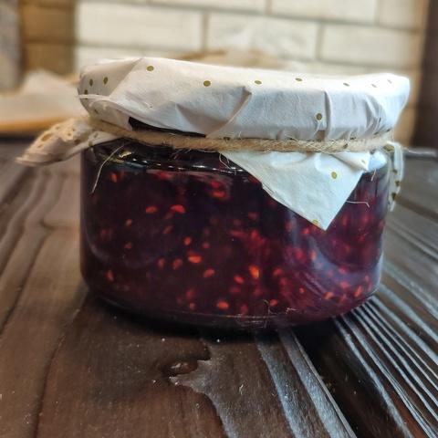 Фотография Варенье из малины / 250 мл купить в магазине Афлора