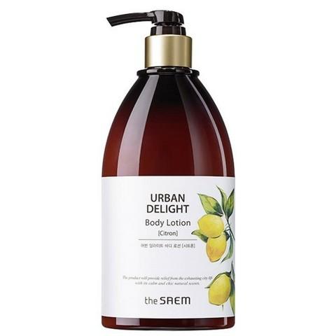 THE SAEM URBAN DELIGHT Гель для душа URBAN Delight Body Shower Gel [Citron]N 400мл