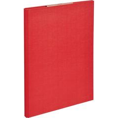 Папка-планшет Attache A4 картонная красная с крышкой