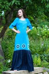 Волошка. Платье женское PL-4252