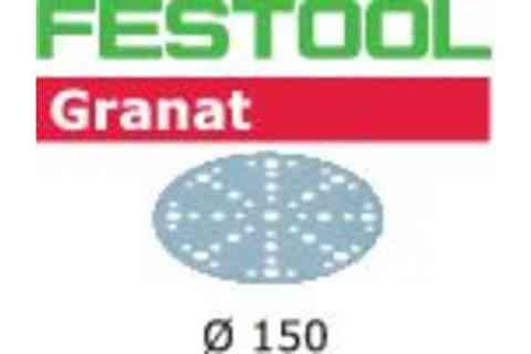 Шлифовальная бумага FESTOOL Granat  STF D150/48 P320 GR/100