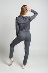 Спортивный костюм с серыми вставками интернет магазин