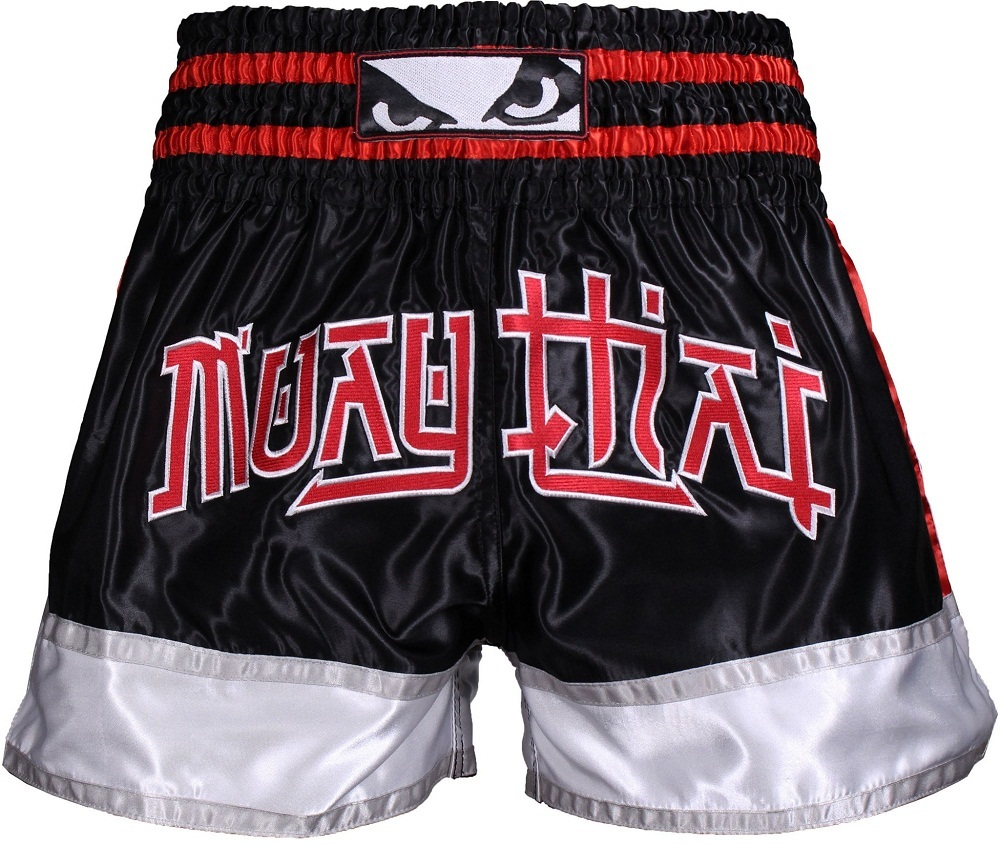 Шорты Шорты Bad Boy Kao Loy Muay Thai Shorts Black/Grey Шорты_Bad_Boy_Kao_Loy_Muay_Thai_Shorts_BlackGrey.jpeg