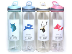 Бутылка для воды. Материал: пластик. Объём 750ML. YY-618