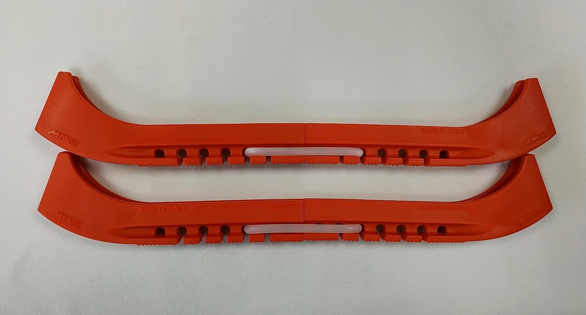 Чехлы на лезвия двойные с силиконовым соединителем (красные)