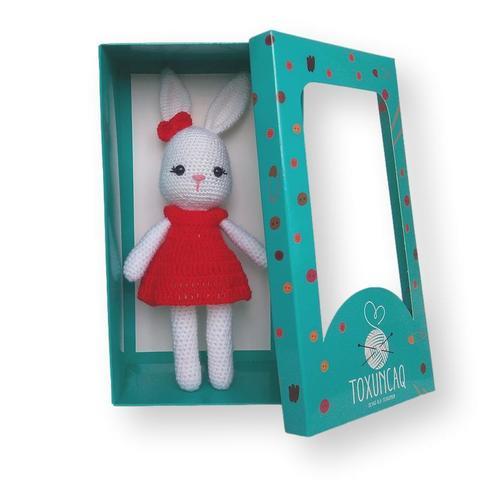 Yumşaq oyuncaq Qırmızı donlu dovşan TXQ-931