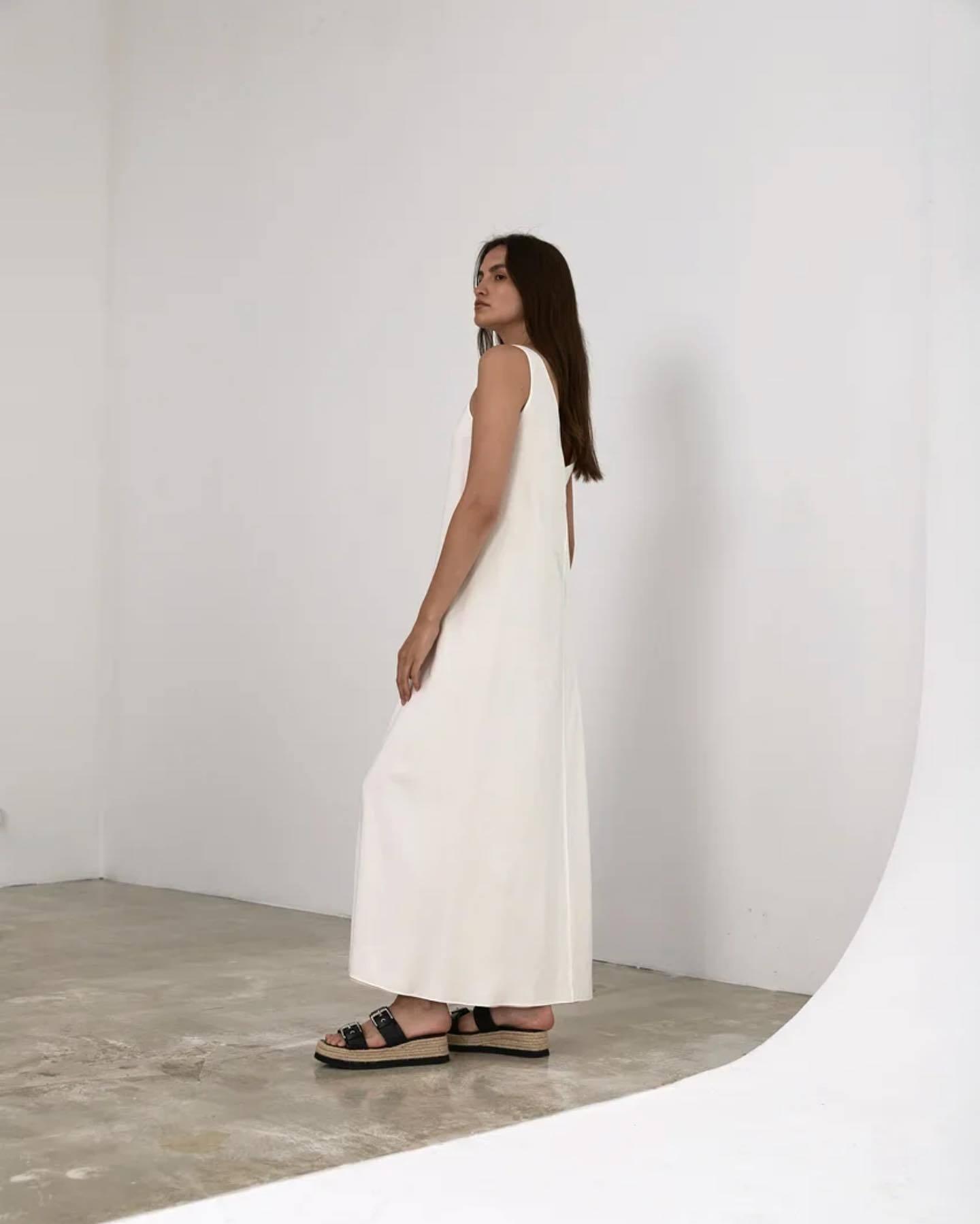 двустороннее платье-майка
