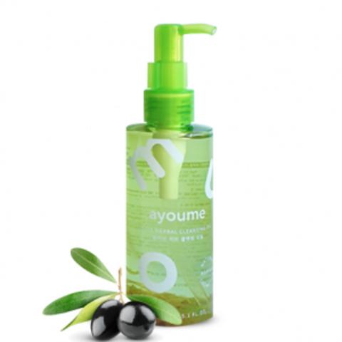 Ayoume Olive Herb Cleansing Oil гидрофильное масло на основе 100% масла оливы