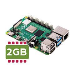 Купить одноплатный микрокомпьютер Raspberry Pi 4 2 Гб