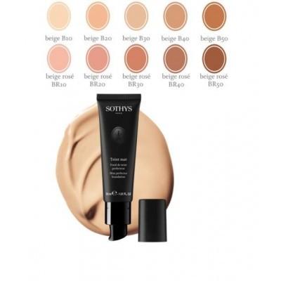 Sothys Make-Up Complexion: Тональная основа под макияж с матовым эффектом (Skin Perfector Foundation), 30мл