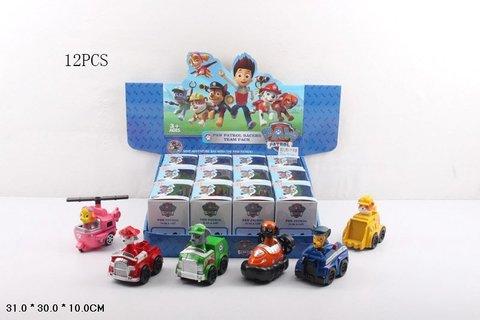 Герои с машинками, инерционные (в коробке), 668-13