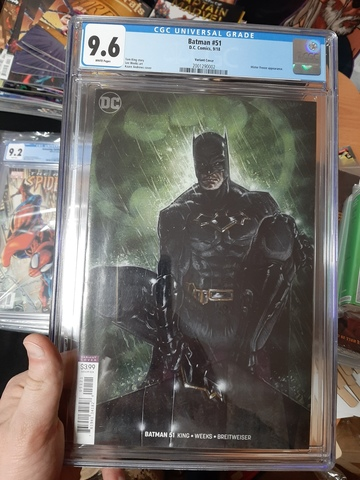 CGC Batman #51. Состояние 9,6
