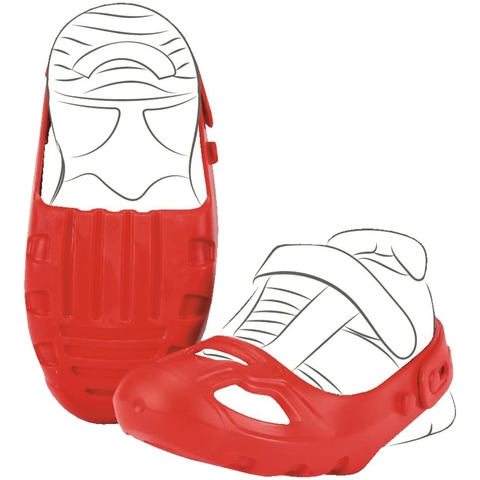 Защита обуви для катания на беговеле и машинах-каталках, красная