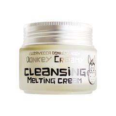 Крем для снятия макияжа Elizavecca Donkey Creamy Cleansing Melting Cream 100g