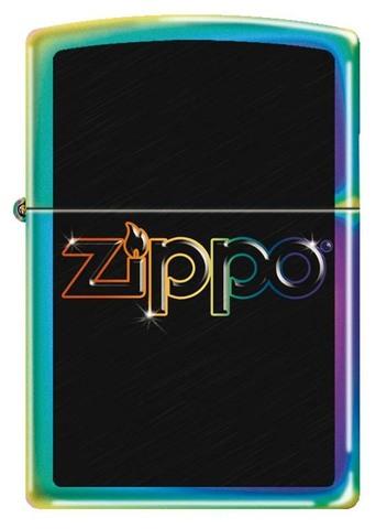 Зажигалка Zippo, латунь с покрытием Spectrum, разноцветная, глянцевая, 36x12x56 мм123