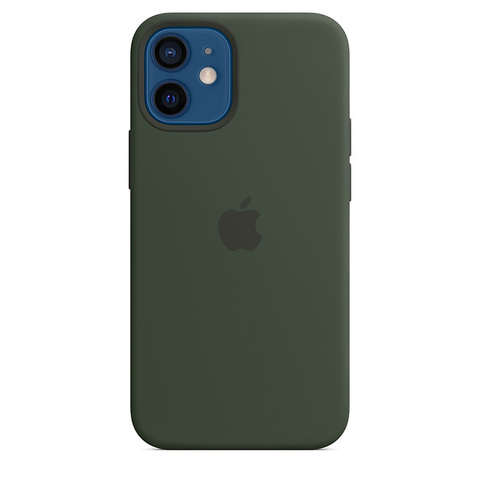 Чехол IP12 Silicone Case Cyprus Green