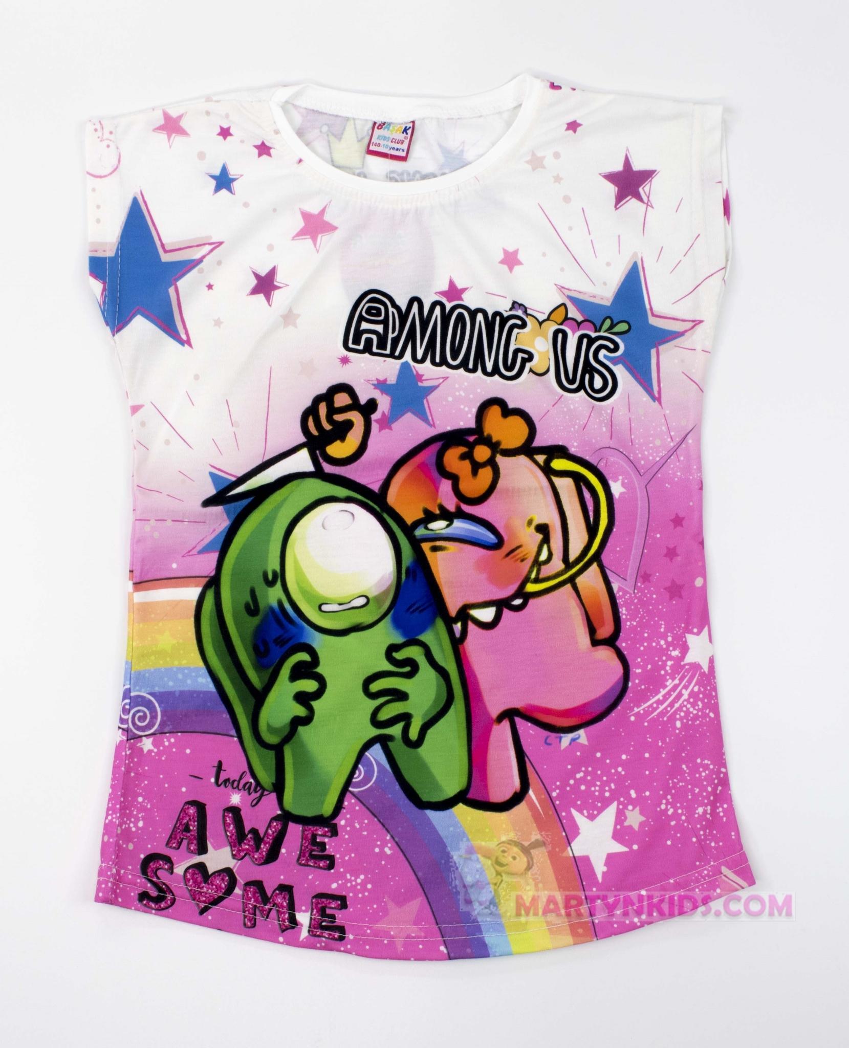 3446 футболка 3 D AMONG US парочка