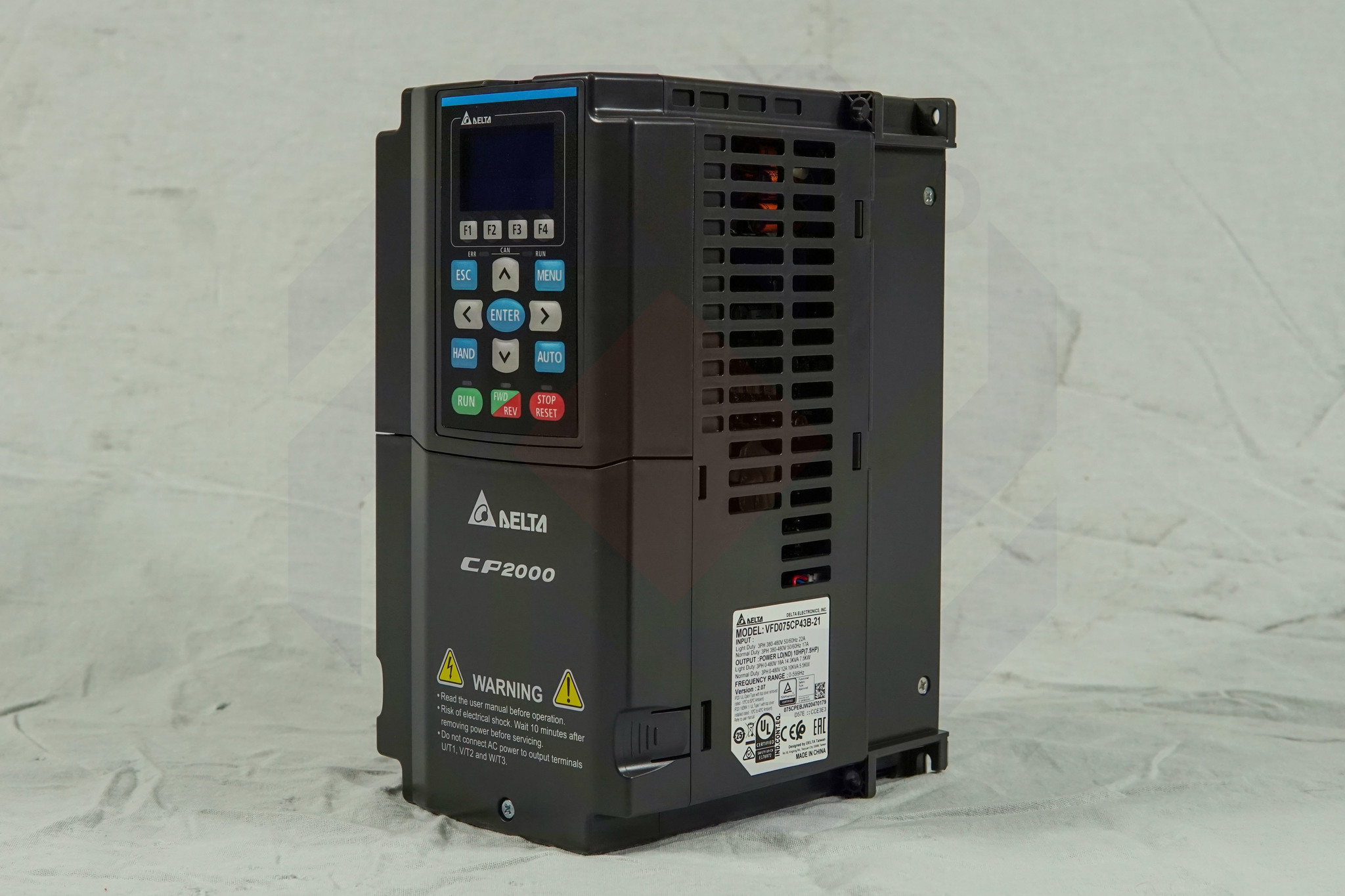 Преобразователь частоты DELTA CP2000 7,5 кВт