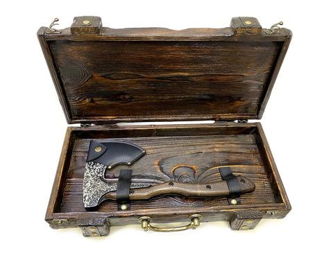 Подарочная шкатулка сундук для топора-2