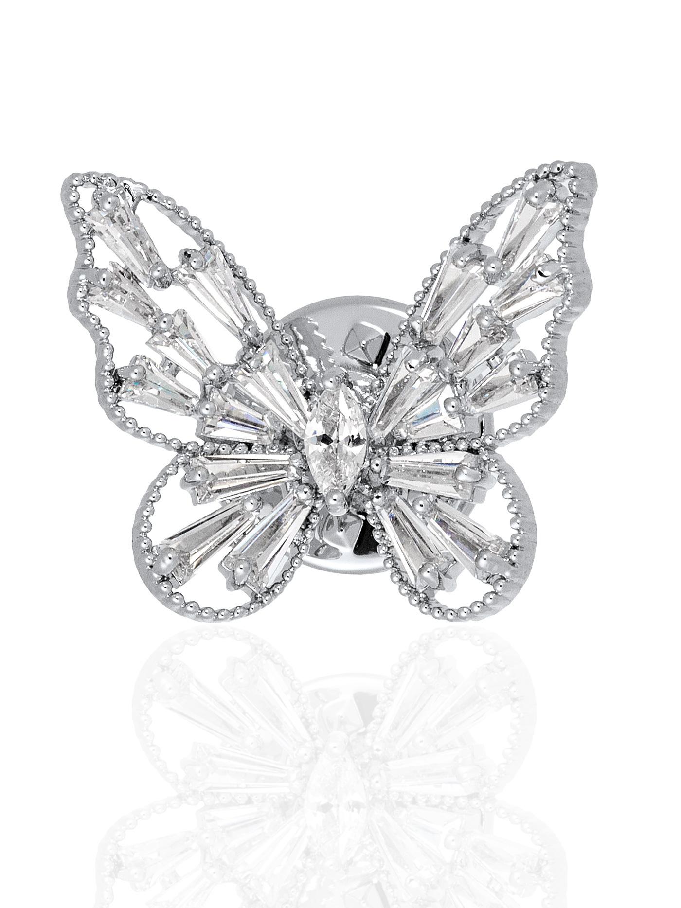 Мини-брошь Бабочка