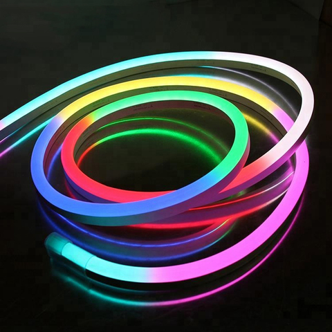Гибкий неон SMD5050-60 LED/м-220 В-12 Вт/м -IP67-RGB (25м) TDM