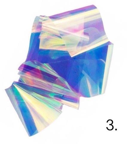 Битое стекло для дизайна ногтей №3 купить за 100руб