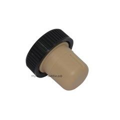 Пробка пластмассовая Т-образная 19,4 мм, бежевая