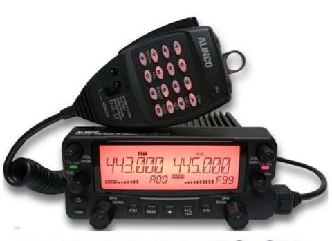 УКВ радиостанция ALINCO DR-735