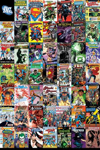Постер Maxi Pyramid: DC: DC Comics (Montage)