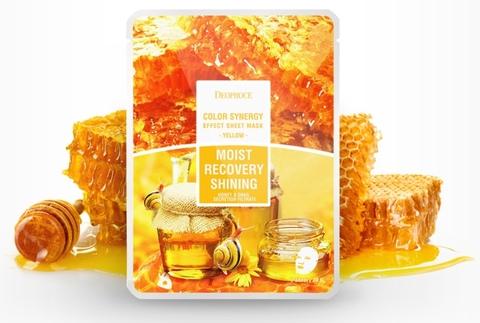 Маска тканевая на основе  фильтрата улитки и мёда (питание и омоложение)