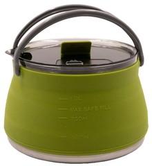 Чайник Tramp складной силиконовый 1л., оливковый