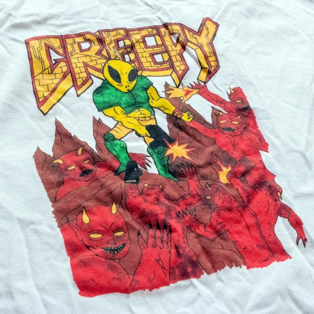 Футболка CREEPY Doom (White)