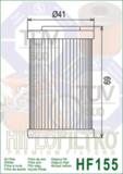 Фильтр масляный HifloFiltro HF155