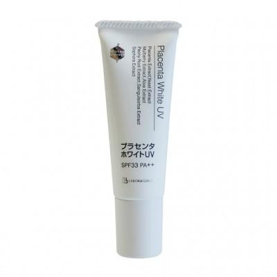 Bb Laboratories Солнцезащитные средства: Крем солнцезащитный SPF 33 РА ++ для профилактики гиперпигментации (Placenta White UV), 30г