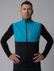 Лыжный разминочный жилет Nordski Premium Breeze/Black 2020