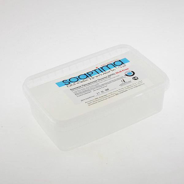 Прозрачная основа Соаптима в упаковке