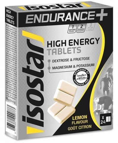Энергетические таблетки Isostar Energy Tablets Lemon