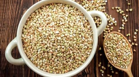 Зелёная гречка для проращивания 1 кг.