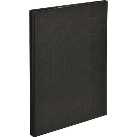 Папка-планшет Attache A4 картонная черная с крышкой