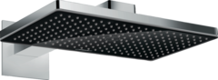 Купить верхний душ 24003600 Hansgrohe Rainmaker Select  460 1jet с держателем, черный/хром в Краснодаре