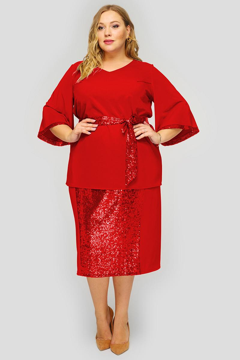 Блузки Блузка из красного крепа 1822704 941414e049bc553288a3d9e15ab1323b.jpg