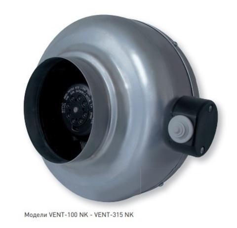 Канальный вентилятор Soler&Palau VENT 125NK