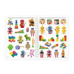 Рабочий блокнот №11 для детей 2-5 лет Игрушки