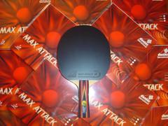 Ракетка №20. Balsa Carbon Black/Max Attack