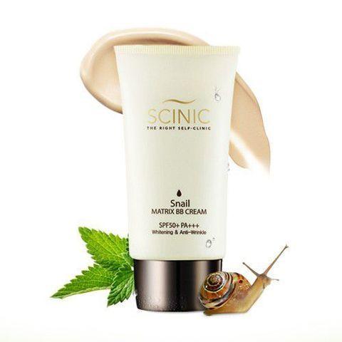 Scinic Snail Matrix BB Cream SPF 50 ББ-крем с улиточным муцином