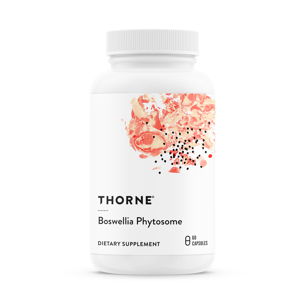 Boswellia Phytosome, Thorne Research,  60 капсул