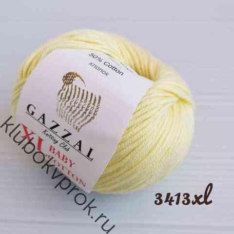 GAZZAL BABY COTTON XL 3413XL, Светлый желтый