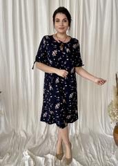 Ліна. Літнє плаття великих розмірів. Синій