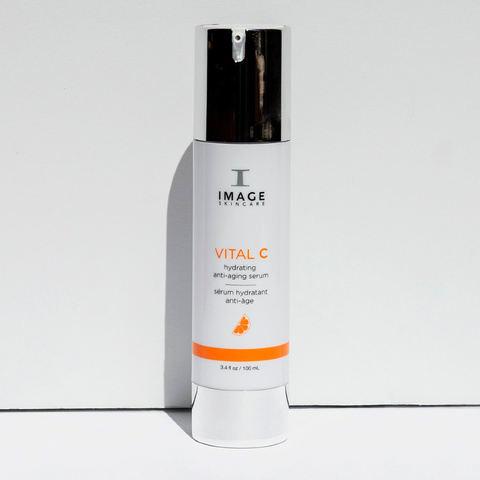 Антивозрастная сыворотка с витамином С Hydrating Anti-aging Serum, VITAL C, IMAGE, 50 мл.