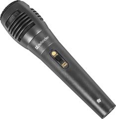 Микрофон Defender MIC-129 черный, кабель 5 м